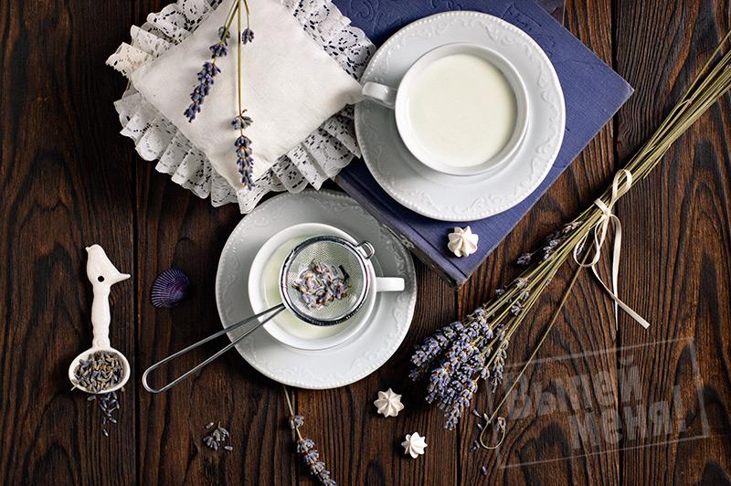 лавандовое молоко «Сладкий сон», ингредиенты