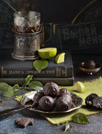 Чернослив в шоколаде по рецепту Анастасии Зурабовой