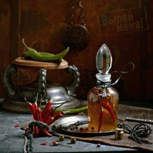 Перцовая настойка на водке или самогоне «Молот Тора»