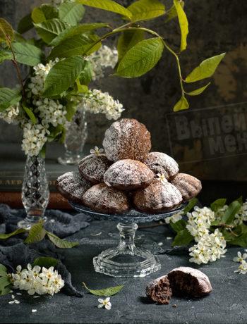 черемуховые кексы с ромом