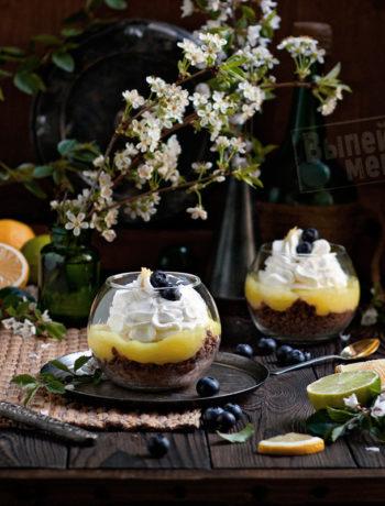 лимонный десерт с лимончелло