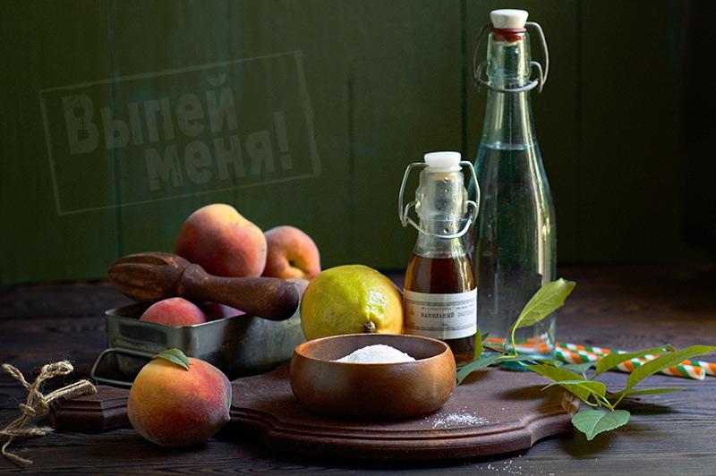 персиковый коктейль с водкой рецепт