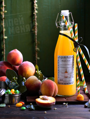 персиковый коктейль с водкой