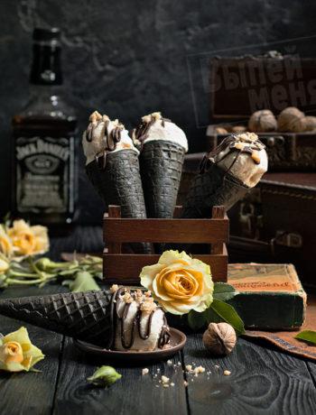 мороженое с виски