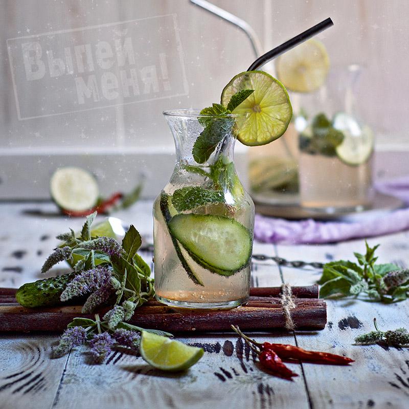 Рецепт мохито с огурцами
