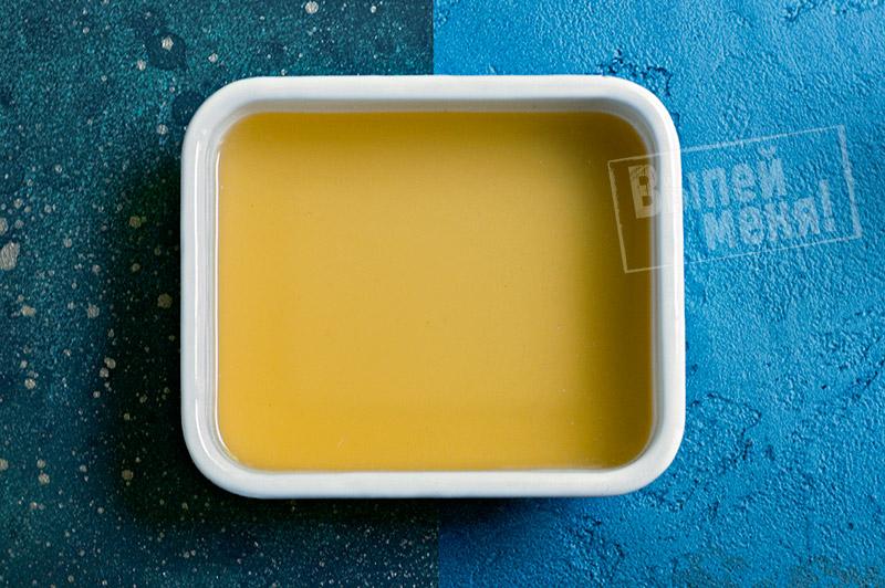 лимонный сорбет с базиликом