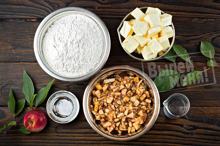 яблочный пирог, ингредиенты