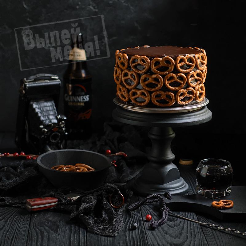 шоколадный торт с пивом гиннес