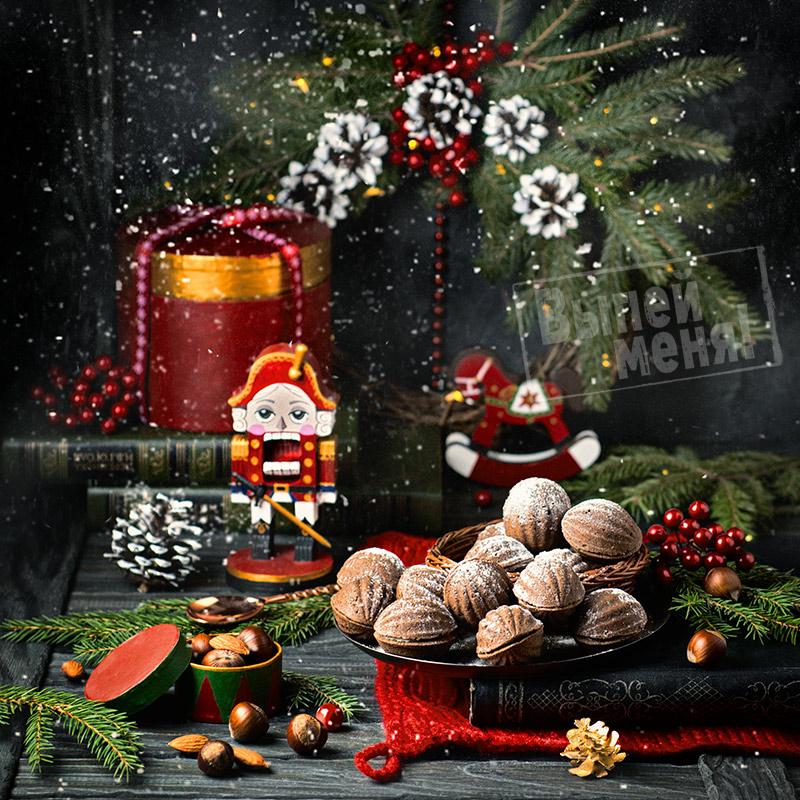 Печенье «Шоколадные орешки»