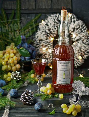 фруктовая настойка на мускатном вине, рецепт
