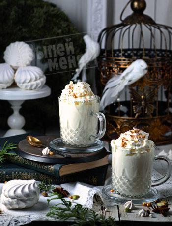 рецепт горячего белого шоколада с пряностями