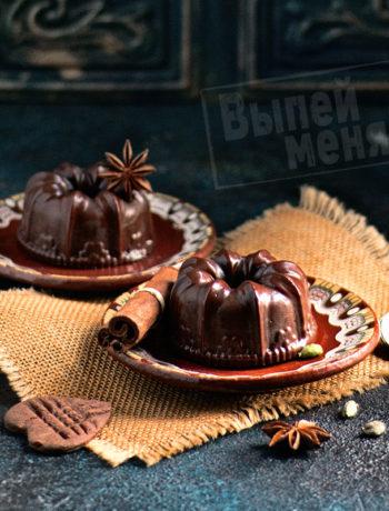 Шоколадный сорбет с пряностями