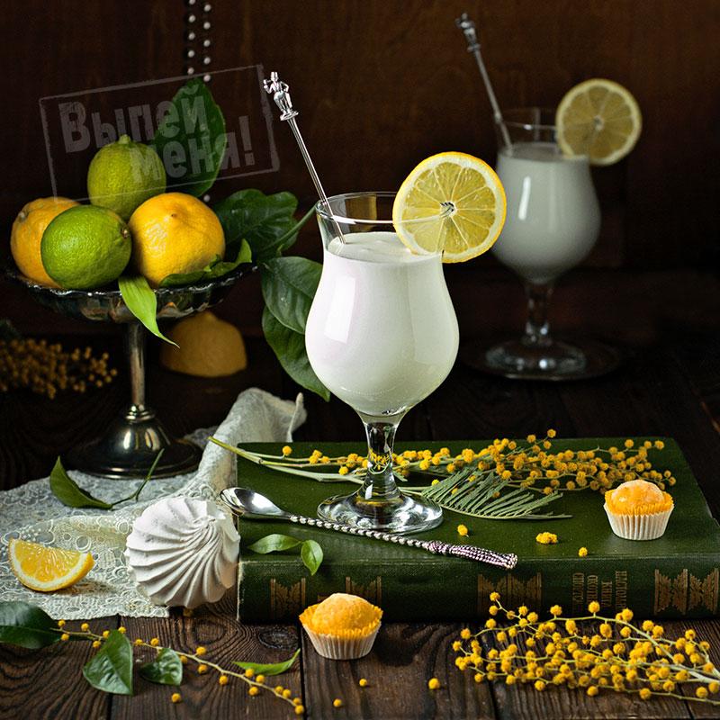 молочный коктейль с лимончелло