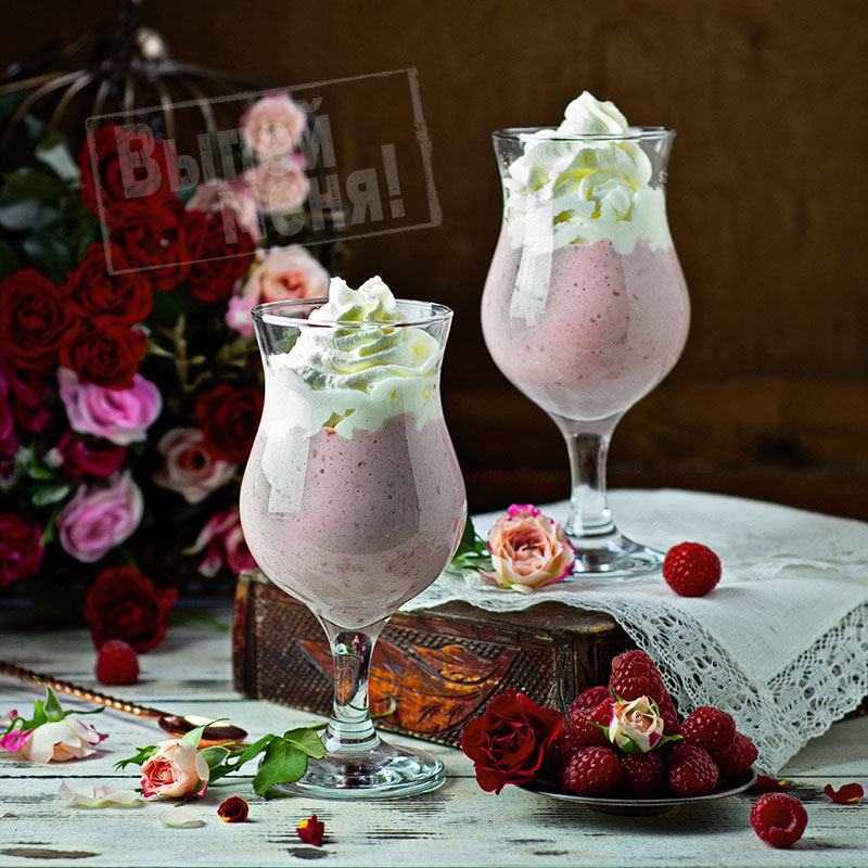молочный коктейль с ромом