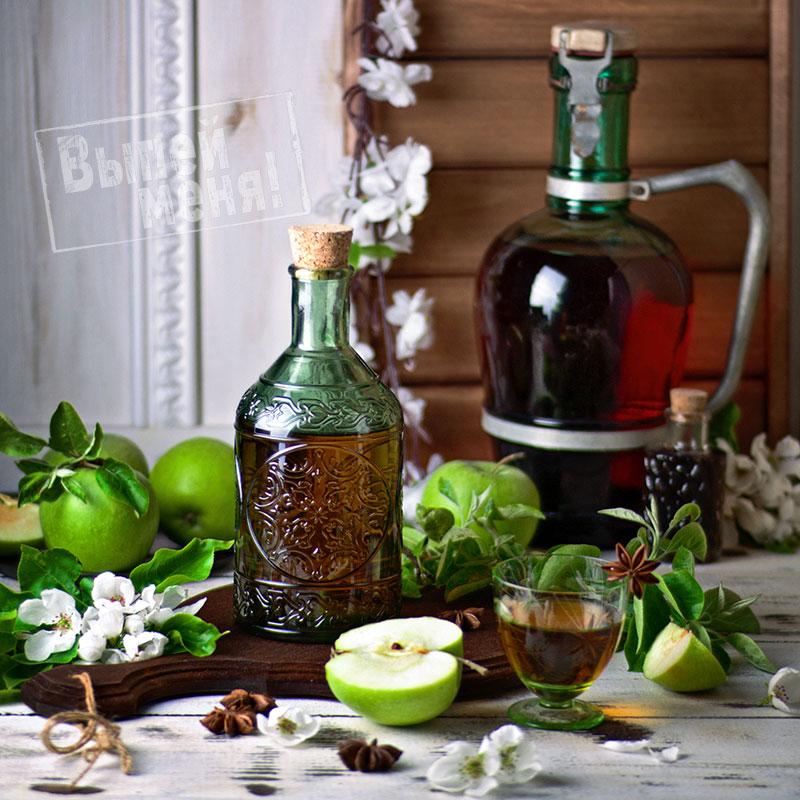 яблочно-анисовая настойка на водке, рецепт