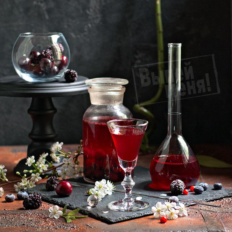 ягодный ликер, рецепт