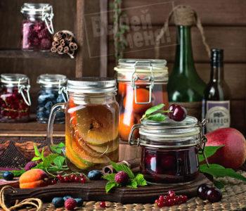 фрукты в алкоголе, рецепт