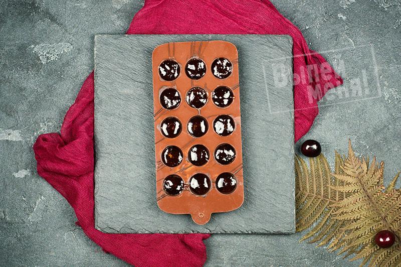 шоколадные конфеты с вишневой наливкой, рецепт