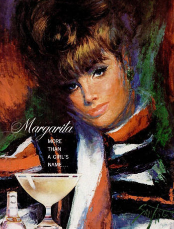 коктейль маргарита, реклама текилы
