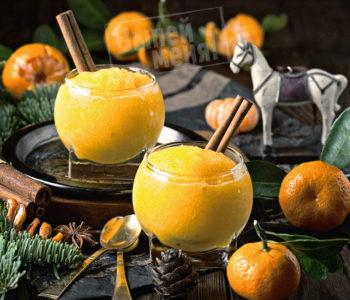 сорбет с мандарином, рецепт