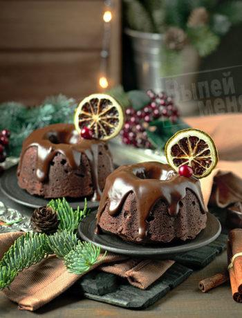 шоколадные кексы с ромом, рецепт