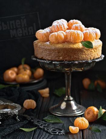 цитрусовый кекс с ликером