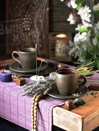 какао с лавандой, рецепт