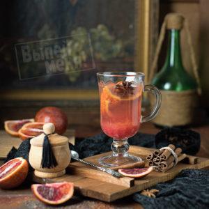 тонизирующий чай с апельсином