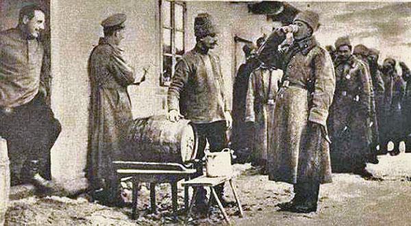 сухой закон в России 1917