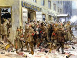 погром винного склада в России