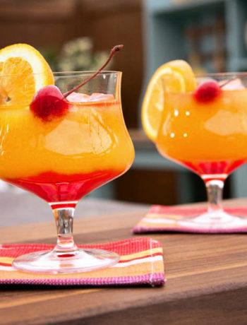 коктейль текила санрайз, рецепт