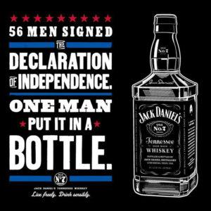 Джек Дэниелс как декларация независимости в бутылке