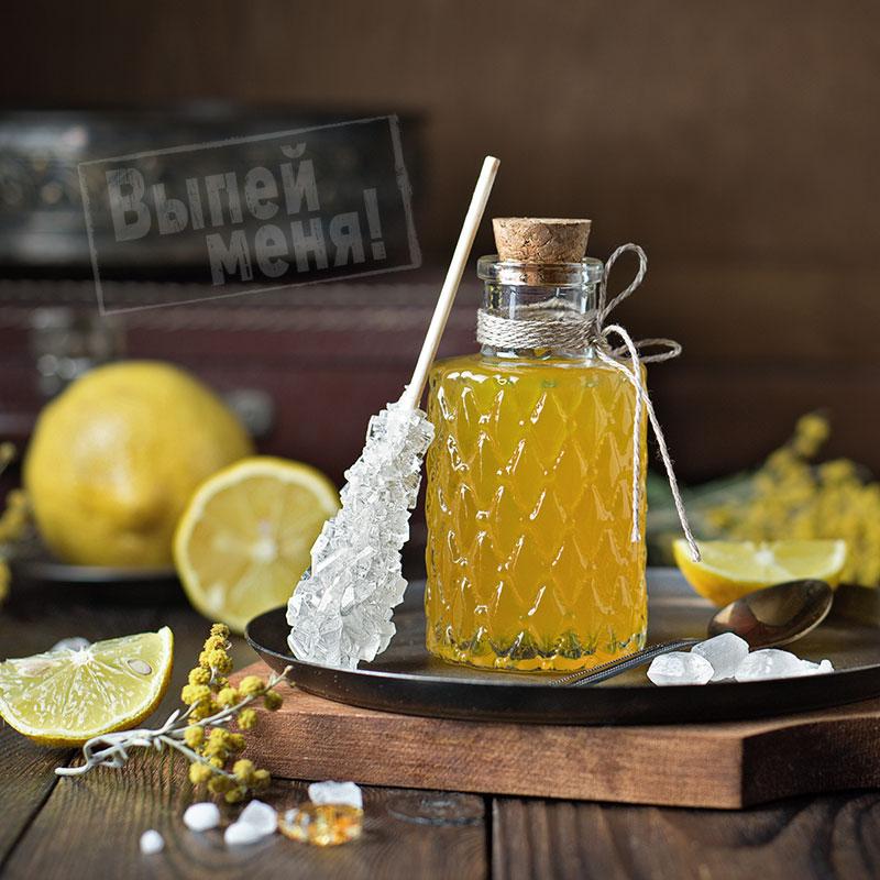 лимонный сироп, рецепт