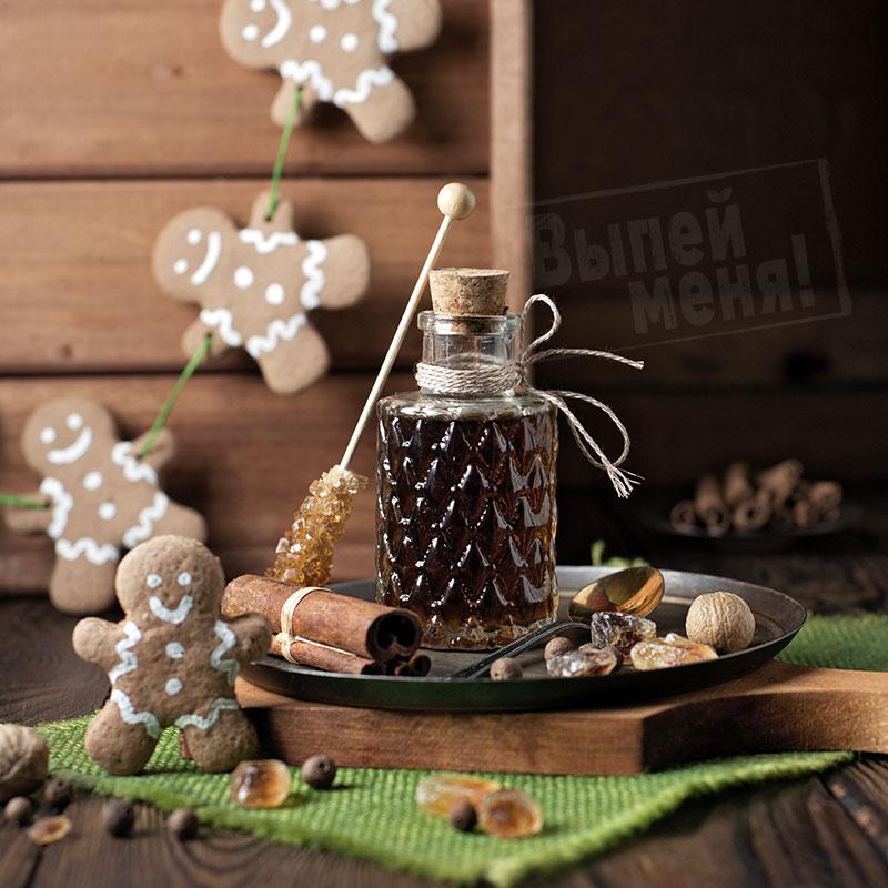 пряничный сироп со специями, рецепт